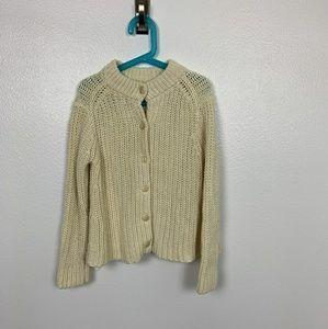Polo by Ralph Lauren Sweater Crochet Sz: M (8-10)